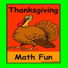 Thanksgiving Math Centers - Thanksgiving Math Fun