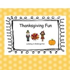 Thanksgiving Math, ELA and Social Studies Fun