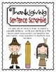 Thanksgiving Math & Literacy Centers