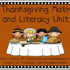 Thanksgiving -  Math & Literacy Fun