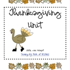 Thanksgiving Math/ELA Ideas