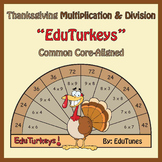 Thanksgiving Third Grade Math EduTurkeys / Common Core-Ali