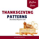 Thanksgiving Patterns {Bundled Set}