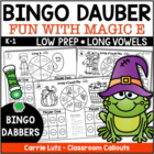 Thanksgiving Phonics Dab ~ Long Vowels ~ Magic E