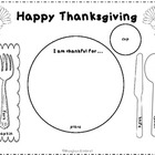 Thanksgiving Place Setting Placemat