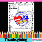 Thanksgiving Poster Activity
