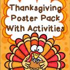 Thanksgiving Poster Pack