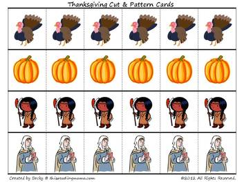 Thanksgiving PreK Pack