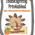 Thanksgiving Printable!