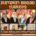 Thanksgiving ~ Pumpkin Bread Turkeys {A Class Baking &amp; Wri