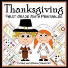 Thanksgiving Quick Common Core (1st grade)