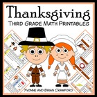 Thanksgiving Quick Common Core (3rd grade)