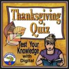 Thanksgiving Quiz - Test Your Knowledge