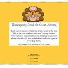 Thanksgiving Read the Room Activity