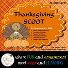 Thanksgiving SCOOT Six-in-One Language Arts Skills