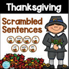Thanksgiving Sentence Scramble