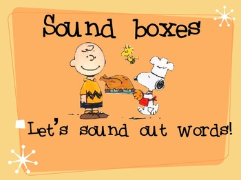 Thanksgiving Sound Boxes Keynote