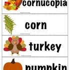 Thanksgiving Symbols Book