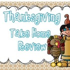 Thanksgiving Take Home Review