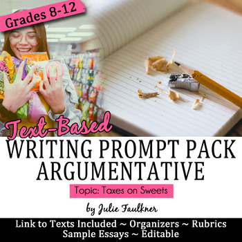 Prompt Pack Argumentative {Obesity} Sample Essay, Prompt, Stimuli