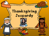 Thanksgiving Themed Jeopardy Game for Smartboard - SMART Notebook