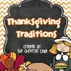 Thanksgiving Traditions FREEBIE