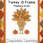 Thanksgiving Turkey 10-Frame Posters    0-20