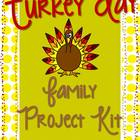 Thanksgiving {Turkey} Family Project