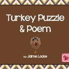 Thanksgiving Turkey Puzzle & Poem