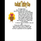 Thanksgiving Turkey Poetry Rap Mini Unit Grades 3 to 12