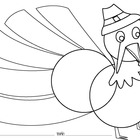 Thanksgiving Turkey Venn Diagram/Graphic Organizer