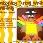 Thanksgiving Turkey Writing Craftivity (English &amp; Spanish)