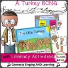 Thanksgiving Turkeys! Five Little Turkeys-a Singable Share