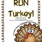 Thanksgiving Verb Tenses Game- Freebie!