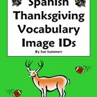 Thanksgiving Vocabulary 18 IDs Homework Answer Key & Word List