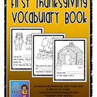 Thanksgiving Vocabulary Book
