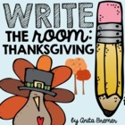 Thanksgiving Write The Room Pack