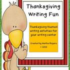 Thanksgiving Writing Fun