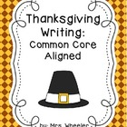 Thanksgiving Writing Pack and Crafts!