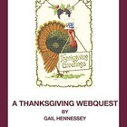 Thanksgiving and Turkey Webquest