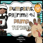 Thanksgiving ( huge ) pack Pumpkins, Pilgrims and Plump Tu