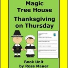 Thanksgiving on Thursday Magic Tree House Reading Comprehension