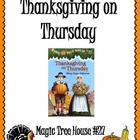 Thanksgiving on Thursday Unit: Comprehension, Vocabulary, 