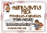 Thanksgiving pack - PROMO version