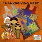 Thanksgiving vest FREEBIE!