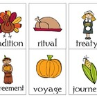 Thanksgiving vocabulary and synonyms