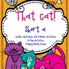 That Cat! {short a word work activities}