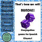 That's how we ROLL! a Spanish class dice game for conjugat