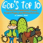 The 10 Commandments-KJV (Song, Posters, Student Pages, and