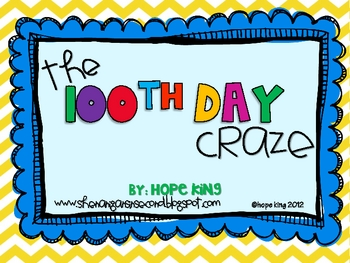 The 100th Day Craze